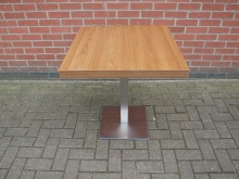 PTCHR2 Pedestal Table. Top 70cm x 70cm