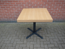 PTLW2 Pedestal Table. Top 80cm x 80cm