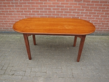 RENDBT1 Round Ended Restaurant / Bar Table. Top 160cm x 70cm