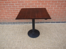 TABRB4 Pedestal Table . Top 75cm x 60cm
