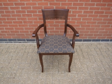 CAC2 Carver Chair with Padded Seat