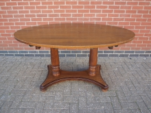 LOVT1 Large Oval Table. Top 150cm x 100cm