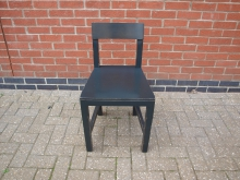 RPDW8 Dining Chair in Dark Wood