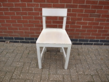 RBWH12 Restaurant / Bistro Chair in White