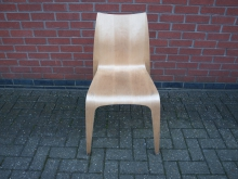 BWPS50 Restaurant / Dining Chair in Lightwood