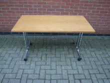 FTCF14 Flip Top Table. Top 130 cm x 65 cm
