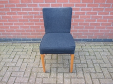 CNGF7 Conference Style Chair with Grey Upholstery