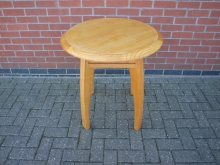 HLWT20 Heavy Lightwood Table. Top 70cm Diameter