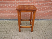 HPTS1 High Poseur Table. Top 69cm x 69cm