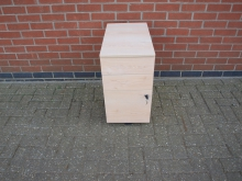 DRA1 Three Drawer Unit with Key
