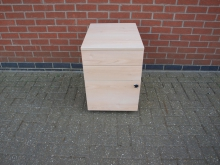 DWTH17 Three Drawer Pedestal Unit with Key