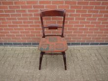 BBCK12 Bar Back Chair. Mixed Upholstery