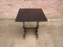 REFB1 Refectory Style Table. Top 68cm x 68cm