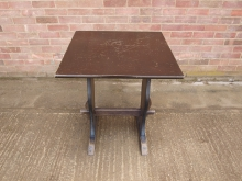 DWRF1 Refectory Style Table. Top 68cm x 68cm