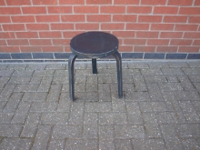 BWTH11 Wooden Stool with Three Legs