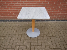 MTPT10 Marble Top Pedestal Table. Top 70cm x 70cm