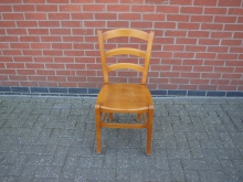 LWDC3 Restaurant / Dining Chair with Plain Wood Seat