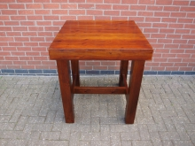 TQHT1 Three Quarter Height Table. Top 80cm x 80cm