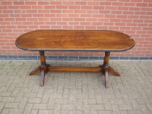 OVLT1 Oval Table. Top 183cm x 76cm