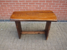 RFSW1 Refectory Style Table. Solid Wood Top