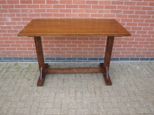 LTQT1 Three Quarter Height Table. Top 140cm x 70cm