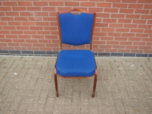 BBRM340 Stacking Banqueting Chair. ( Embroidered Letter B on Back)