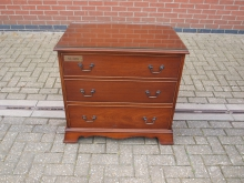 DWCD1 Chest of Drawers in Dark Wood