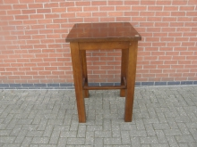 SQPT4 High Poseur Table. Top 70cm x 70cm