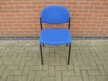 BLCF42 Conference Chair with Blue Upholstery