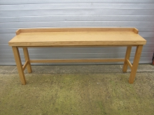 SKHT9 Solid Oak High Table. Various Sizes Available