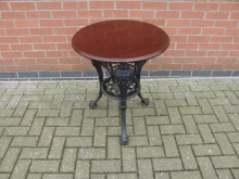 GHT1 Girls Head Table with Heavy Cast Base. Top 60cm Diameter