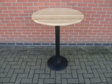 LWHPT1 High Poseur Table. Top 75cm Diameter. Height 104cm