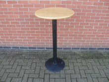 RPST1 High Poseur Table. Top 60cm Diameter. Height 112cm
