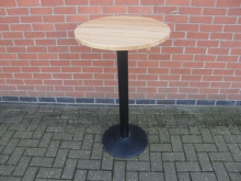 PTRD2 High Poseur Table. Top 60cm Diameter. Height 102cm