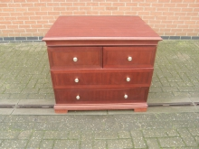 LDCH20 Chest of Drawers in Dark Wood