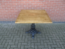 BLCB8 Pedestal Table with Cast Base. Top Size 91cm x 91cm