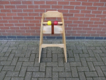 LWBC5 Infants High Chair in Light Wood