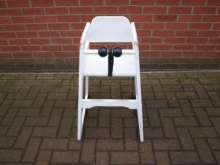 WHC10 Infants High Chair in White