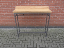 HCTG2 High Console Table. Top 148cm x 35cm