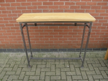 GHCT6 High Console Table with Metal Frame. Various Widths Available