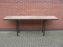 HUTT2 High Utility Table . Top Size 250cm x 50cm