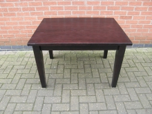 EXST2 Ex-Showroom 3/4 Height Table in Dark Wood