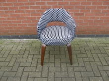 SPTB2 Tub Style Chair. Spotted Fabric
