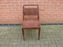 HHDW8 Dining Chair in Dark Wood