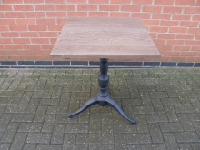 HCBT1 Table with Heavy Cast Base. Top 60cm x 60cm