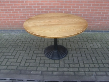 HDPT2 Heavy Pedestal Table. Top 122cm Diameter
