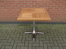 NTC4 New Outdoor Table. Top Size 70cm x 70cm