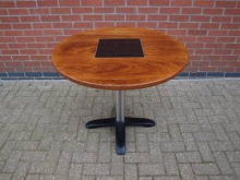 RGT1 Round Table with Granite Inlay. Top 90cm Diameter