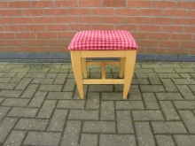 LSTF3 Low Stool with Upholstered Seat
