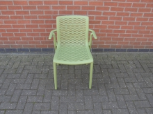 LTTC4 Plastic Outdoor Chair in Green